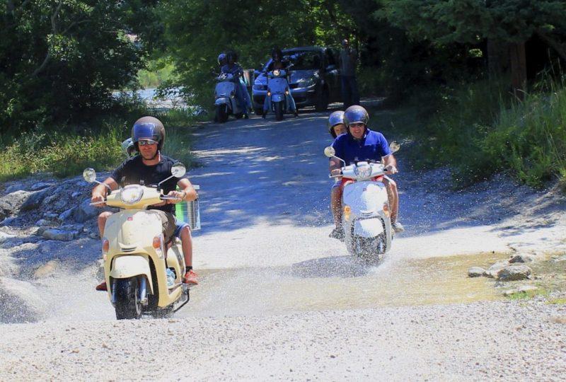 Vagabondage en scooter : Aventure Robinsone Insolite en Drôme provençale à Marsanne - 1