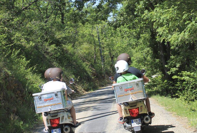 Vagabondage en scooter : Aventure Robinsone Insolite en Drôme provençale à Marsanne - 2