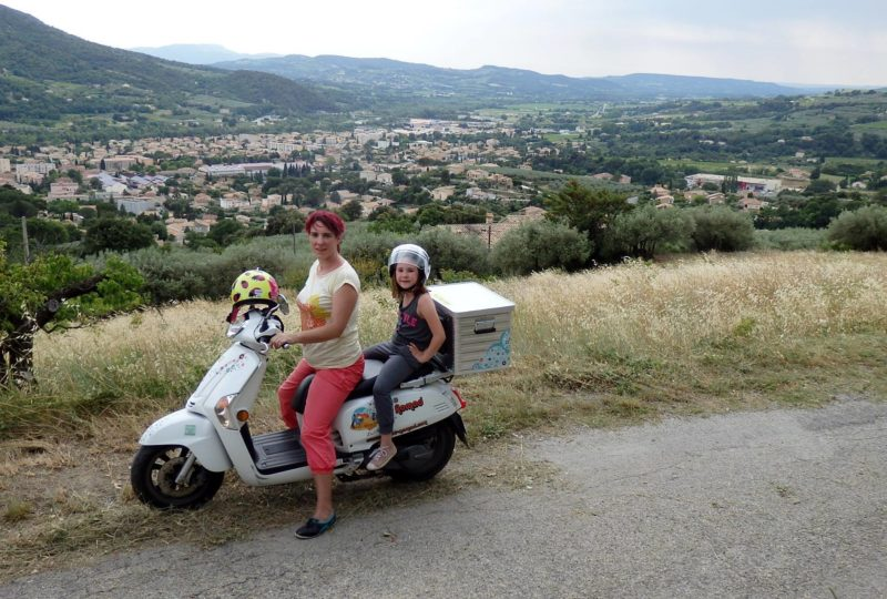 Vagabondage en scooter : Aventure Robinsone Insolite en Drôme provençale à Marsanne - 8