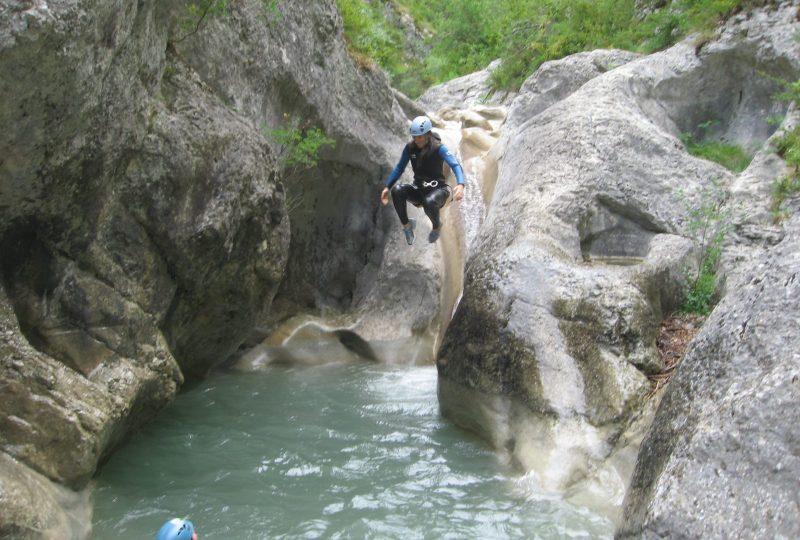 Water hike with Drôme aventure à Die - 1