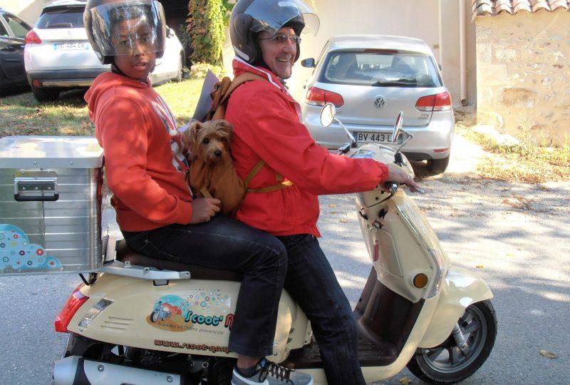 Parcours d'art en scooter : découverte et itinérance à Marsanne - 0