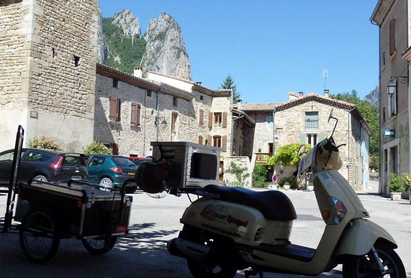 Vagabondage en scooter : Aventure Robinsone Insolite en Drôme provençale à Marsanne - 9