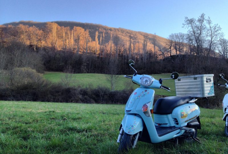 Vagabondage en scooter : Aventure Robinsone Insolite en Drôme provençale à Marsanne - 12