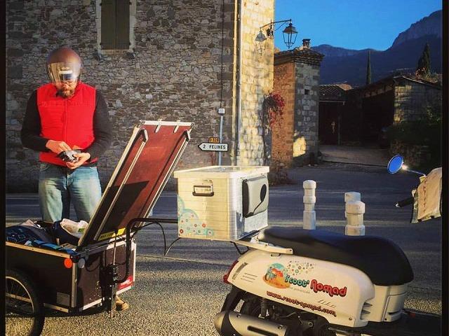 De ferme en ferme : en scooter le nez en l'air ! à Marsanne - 1