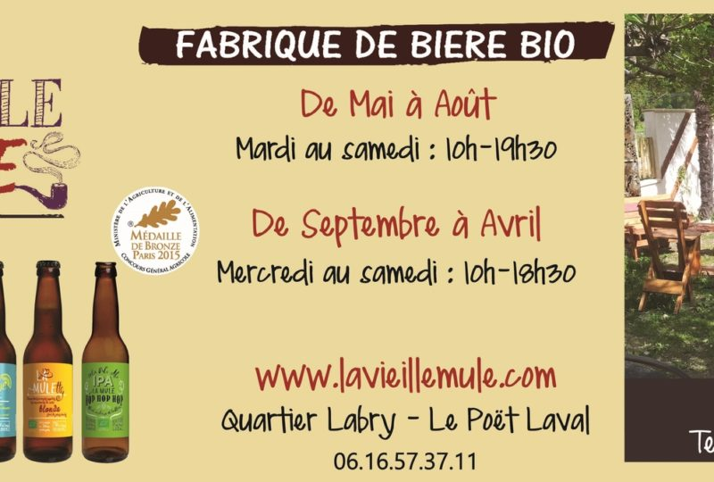Brasserie la Vieille Mule à Le Poët-Laval - 0