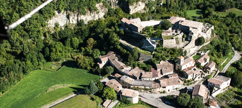 Le Restaurant  du Château à Le Poët-Célard - 4