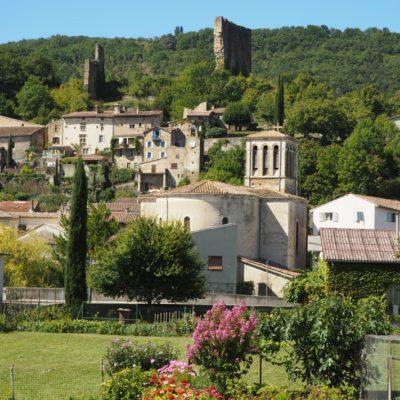 Village - Bourdeaux - Eglise -centre ancien - chateau