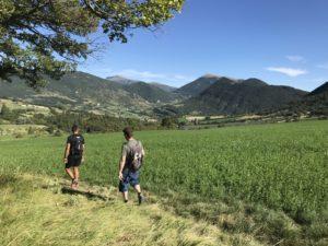 Sentiers des Huguenots - Le Poêt-Laval - Dieulefit _ Bourdeaux -chemin de randonnée et marche en Drôme