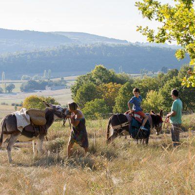 Randonnée famille avec animaux - Tzig'ânes Anna Puig Rosado
