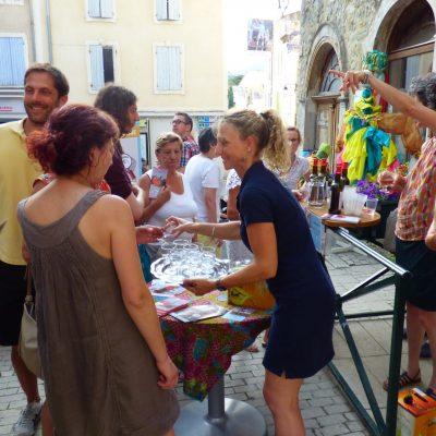 Apéritif de bienvenue - juillet 2019 -Ambassadeur Tourisme - Dieulefit