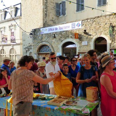 Apéritif de bienvenue - juillet 2019 -Ambassadeur Tourisme -Le Picodon à Dieulefit