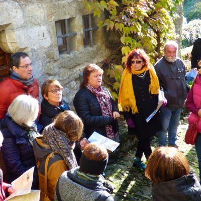 Visite guidée - village de Bourdeaux - les ambassadeurs tourisme