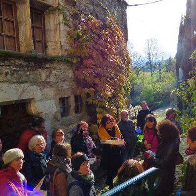 Visite guidée - village de Bourdeaux - les ambassadeurs tourismes