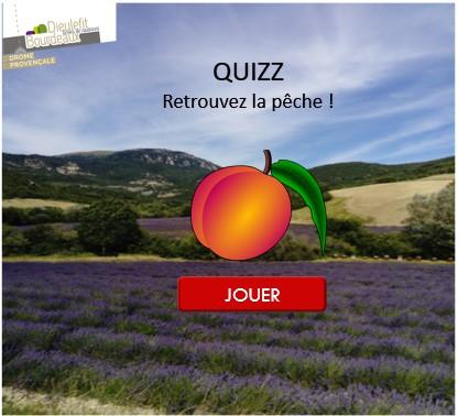Le jeu Quizz, retrouvez la pèche au Pays de Dieulefit - Bourdeaux!