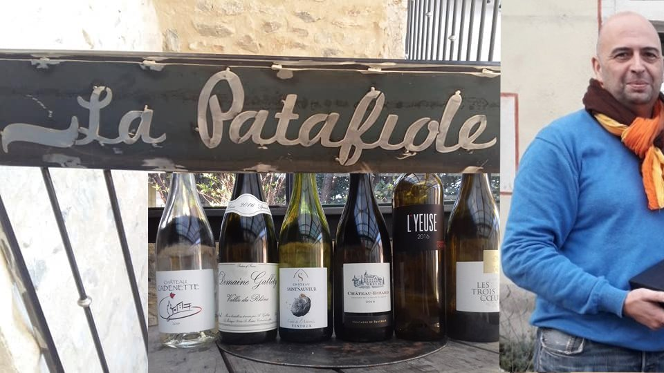 La cave à vin la Patafiole à Pont-de-Barret