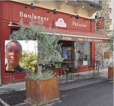 La boulangerie Banette et Gilles Laumonnier à Dieulefit