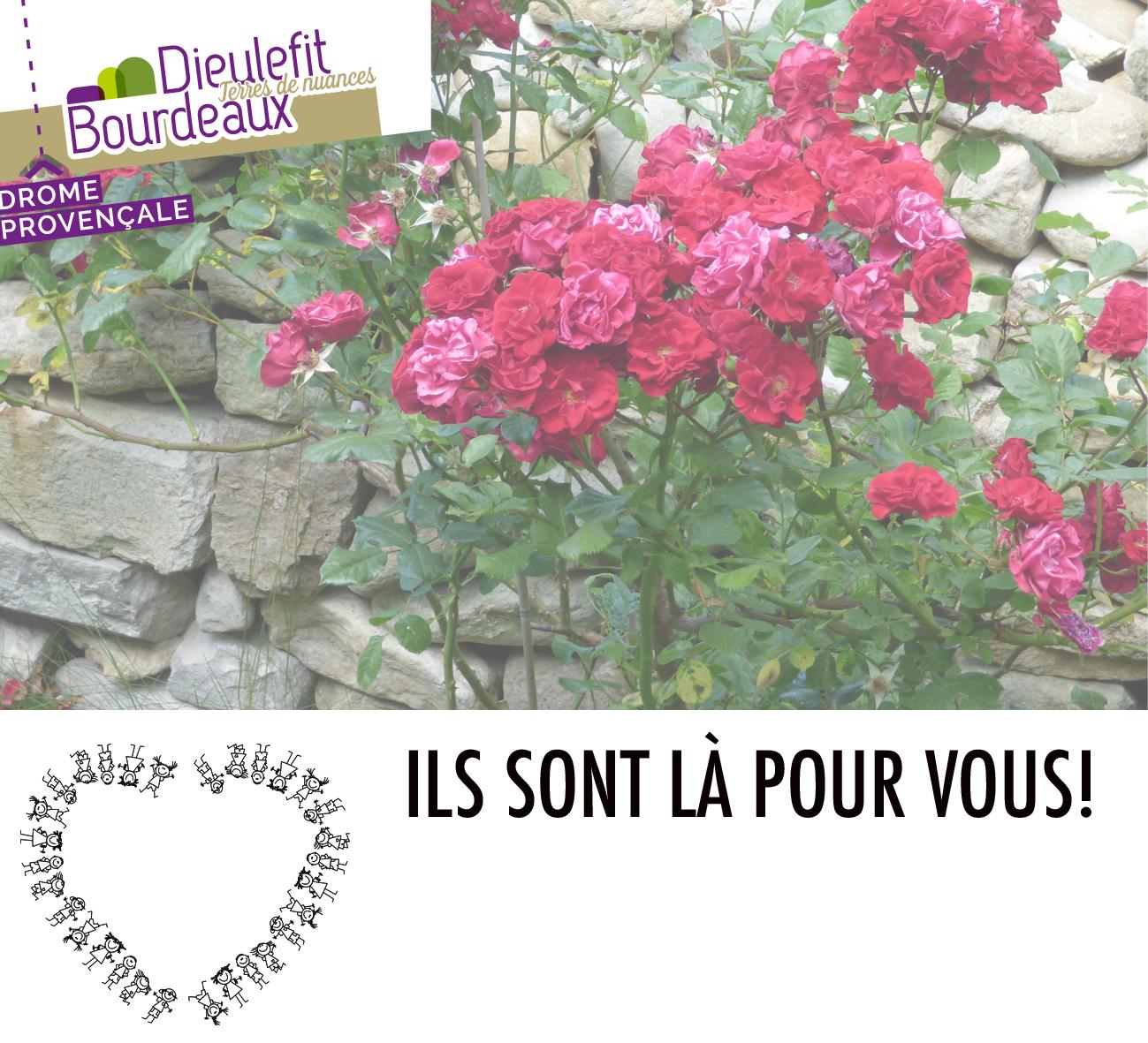 ILS SONT LÀ POUR VOUS! - soignants, commerçants, habitants du pays de Dieulefit - Bourdeaux