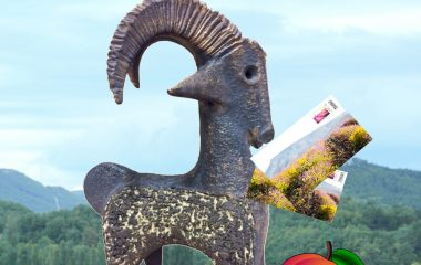 Le jeu Quizz, retrouvez la pèche au Pays de Dieulefit - Bourdeaux avec la chèvre Bêêêlà