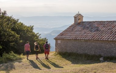 Montagne Saint Maurice Chapelle