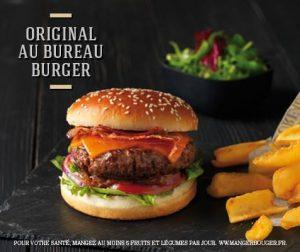 hamburger a emporter -Au bureau - le Pub