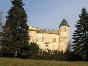 Chateau Emile Loubet - La Bégude de Mazenc -parc