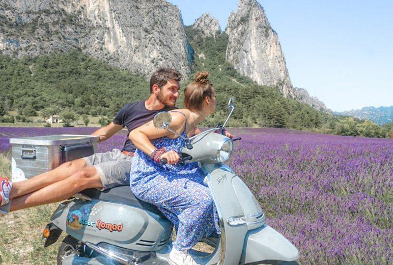 Scooter Nomad – Balades à scooter (électrique ou classique) et Mobylette à Marsanne - 0