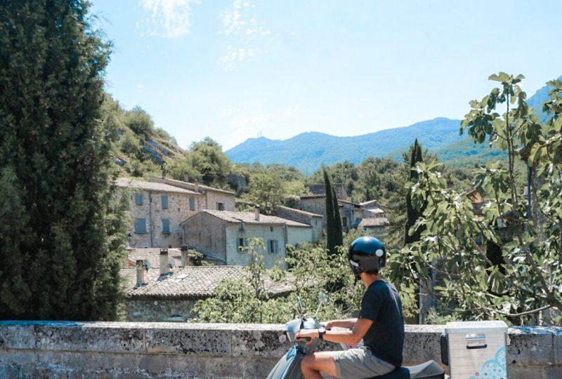 Scooter Nomad – Balades à scooter (électrique ou classique) et Mobylette à Marsanne - 1