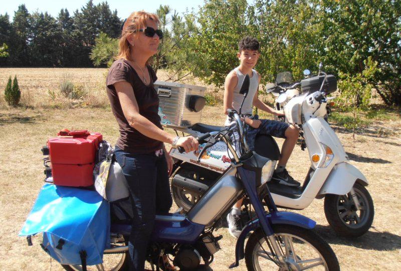 Scooter Nomad – Balades à scooter (électrique ou classique) et Mobylette à Marsanne - 3