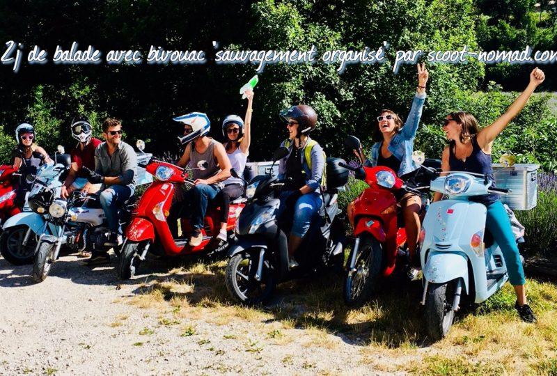Scooter Nomad – Balades à scooter (électrique ou classique) et Mobylette à Marsanne - 4