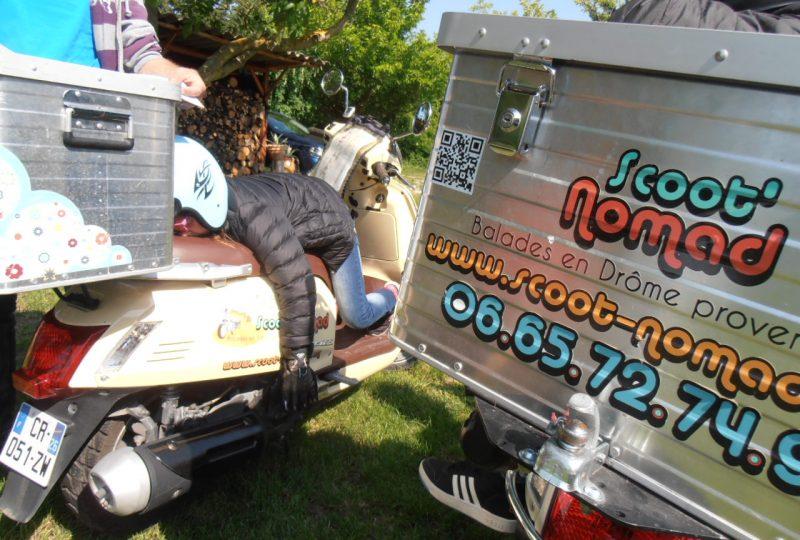 Scooter Nomad – Balades à scooter (électrique ou classique) et Mobylette à Marsanne - 8