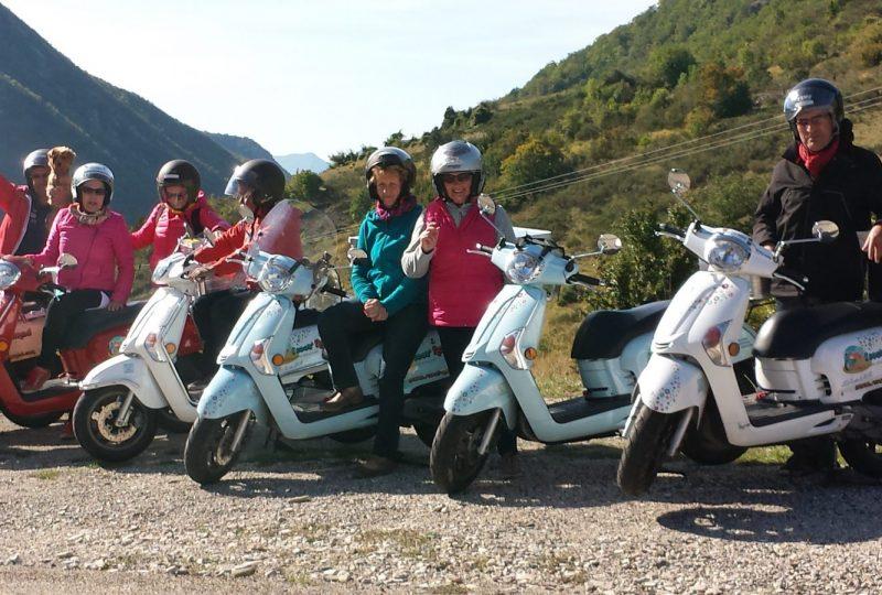 Scooter Nomad – Balades à scooter (électrique ou classique) et Mobylette à Marsanne - 12