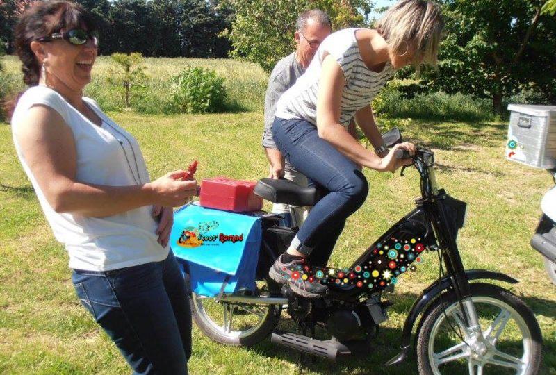 Scooter Nomad – Balades à scooter (électrique ou classique) et Mobylette à Marsanne - 14