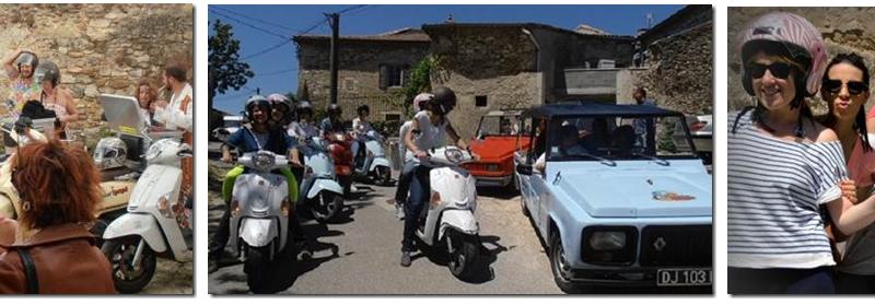 Scooter Nomad – Balades à scooter (électrique ou classique) et Mobylette à Marsanne - 15