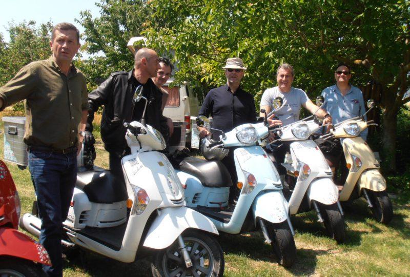Scooter Nomad – Balades à scooter (électrique ou classique) et Mobylette à Marsanne - 19
