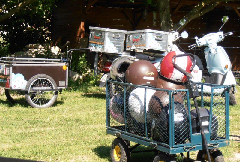 Scooter Nomad – Balades à scooter (électrique ou classique) et Mobylette à Marsanne - 20