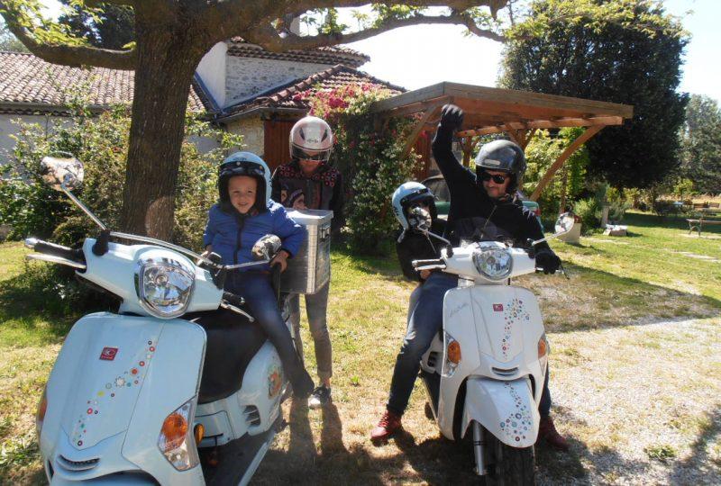 Scooter Nomad – Balades à scooter (électrique ou classique) et Mobylette à Marsanne - 22