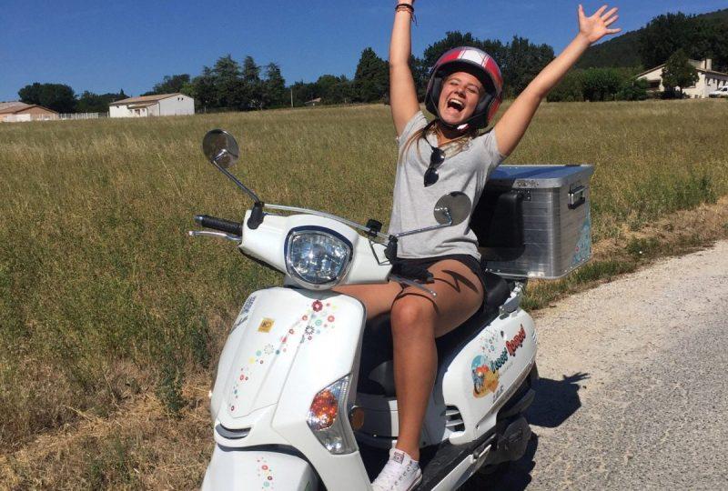 Scooter Nomad – Balades à scooter (électrique ou classique) et Mobylette à Marsanne - 23