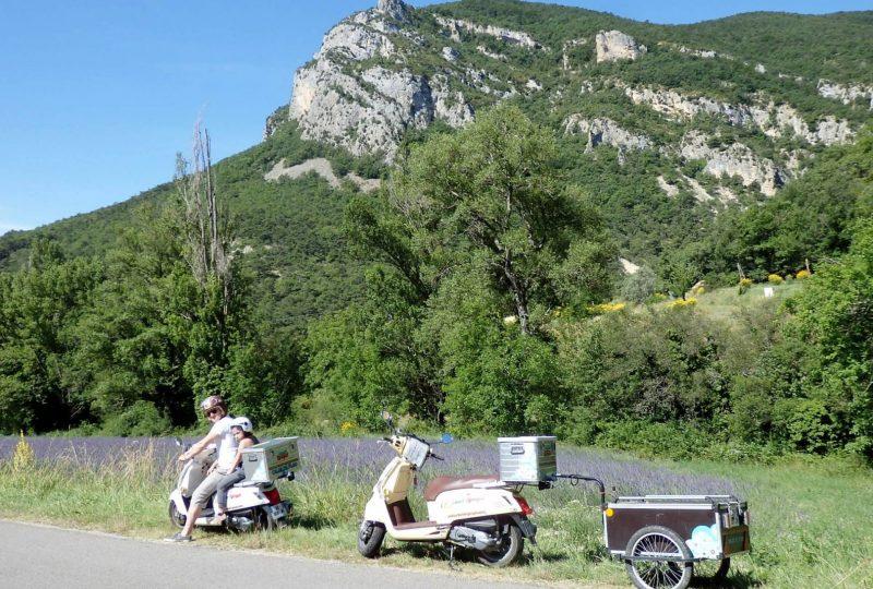 Scooter Nomad – Balades à scooter (électrique ou classique) et Mobylette à Marsanne - 30