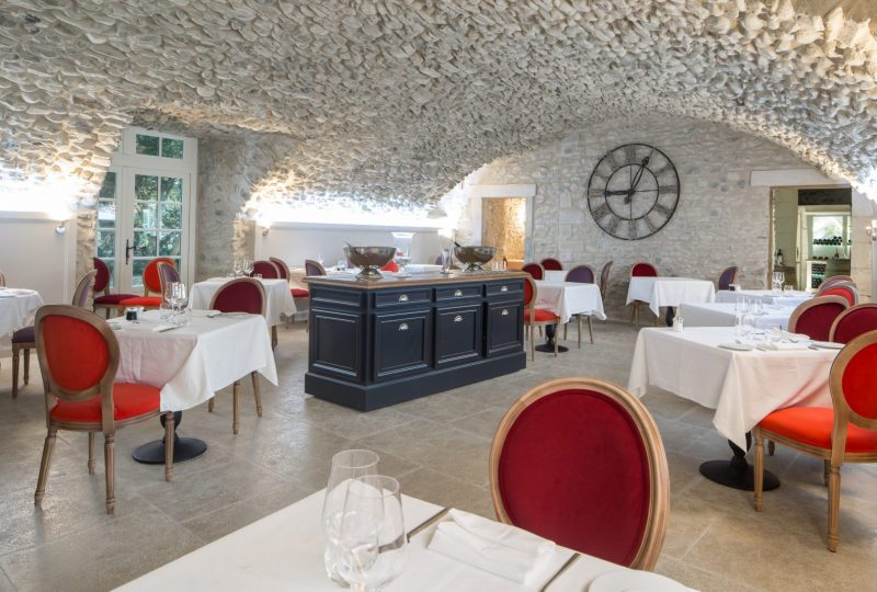 Restaurant Château les Oliviers de Salettes à Charols - 13