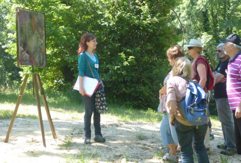 Visite guidée le Chemin des Artistes Réfugiés et le Mémorial dédié à la Résistance Civile à Dieulefit - 2