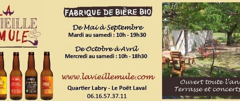 Brasserie la Vieille Mule à Le Poët-Laval - 7