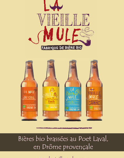 Brasserie la Vieille Mule à Le Poët-Laval - 1