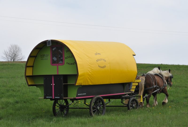 «Petite bohème» : 4 jours en roulotte tirée par des chevaux à Le Poët-Célard - 4