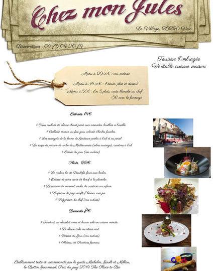 Restaurant Chez mon Jules à Vesc - 1