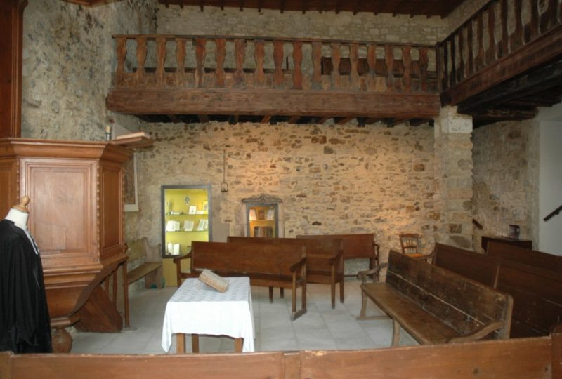 Musée du Protestantisme Dauphinois à Le Poët-Laval - 9