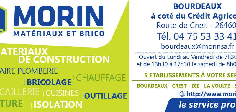 Morin Matériaux et Brico à Bourdeaux - 4