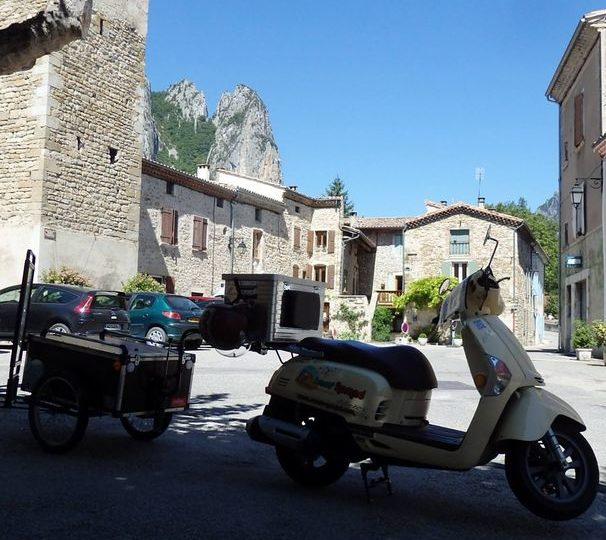 Escapades à scooter – Scoot' Nomad à Marsanne - 4