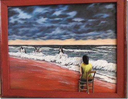 Atelier-Exposition de peinture Daniel Joux à Dieulefit - 1