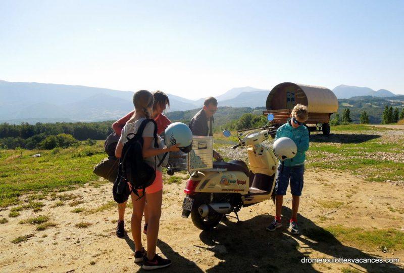 Parcours d'art en scooter : découverte et itinérance à Marsanne - 7
