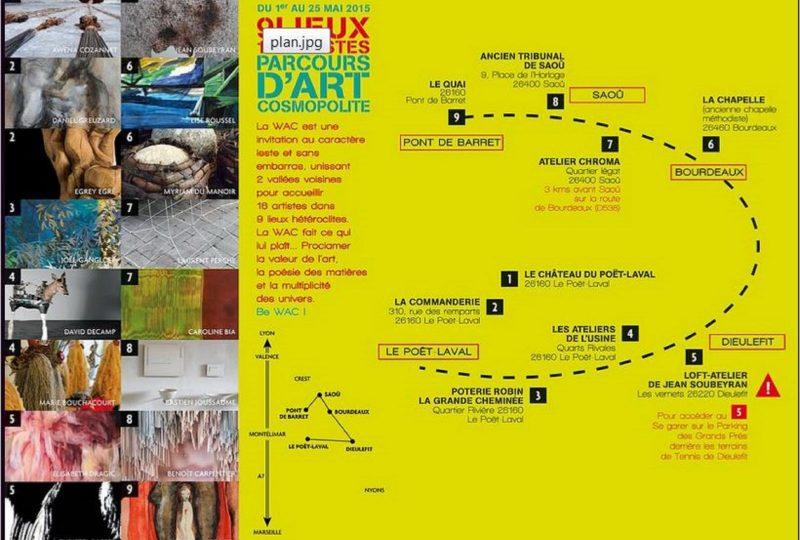 Parcours d'art en scooter : découverte et itinérance à Marsanne - 3